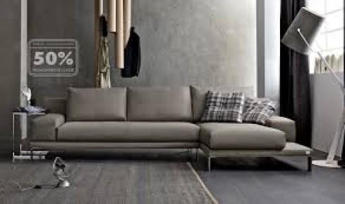 Promozione doimo salotti atelier 50 mobili bozzano sas - Mobili rivestiti in pelle ...